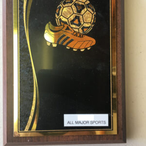 Specail Soccer plaque